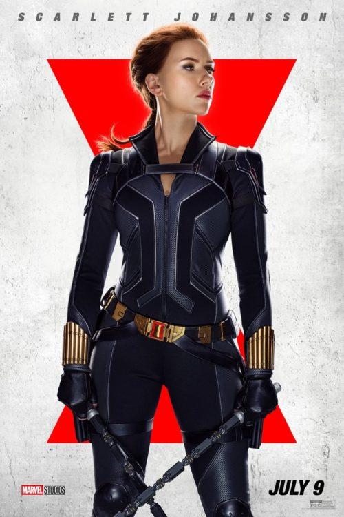 Viúva Negra | Novos pôsteres individuais dos personagens - Scarlett-Johansson