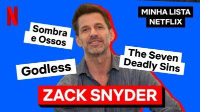 Zack Snyder, diretor de Army of The Dead: Invasão em Las Vegas, revela sua lista preferida da Netflix
