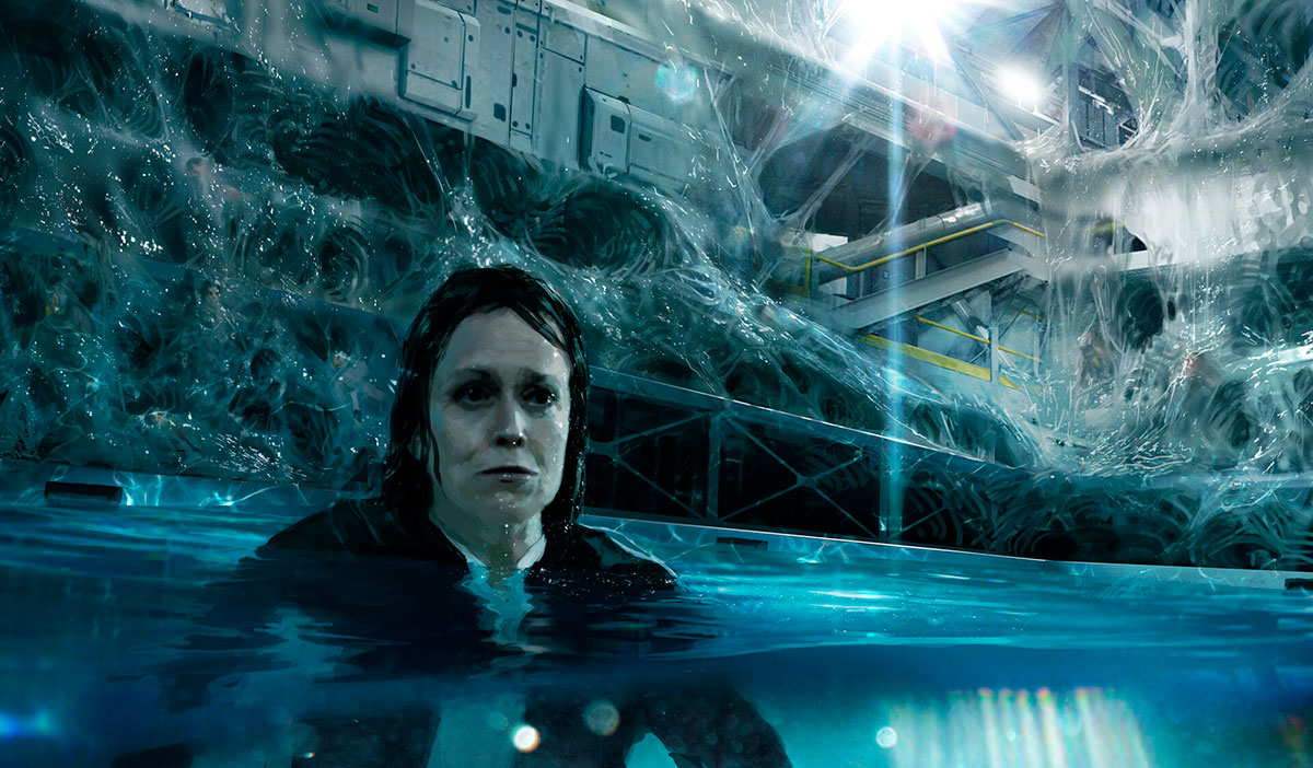 Alien 5 de Neil Blomkamp   Novas artes conceituais do filme cancelado são reveladas