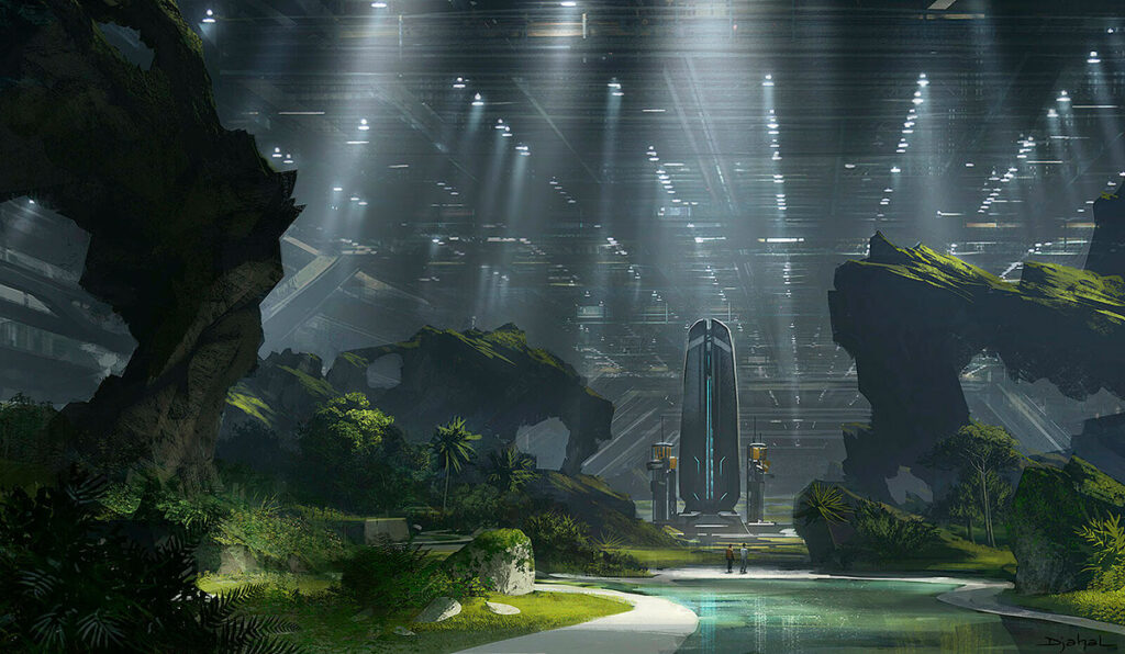 artes conceituais alien de neil blomkamp 13 1024x596 - Alien 5 de Neil Blomkamp   Novas artes conceituais do filme cancelado são reveladas