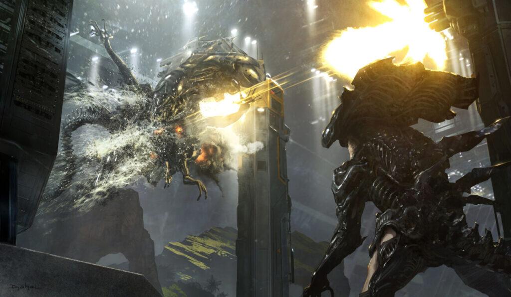 Alien de Neil Blomkamp | Novas artes conceituais do filme cancelado são reveladas