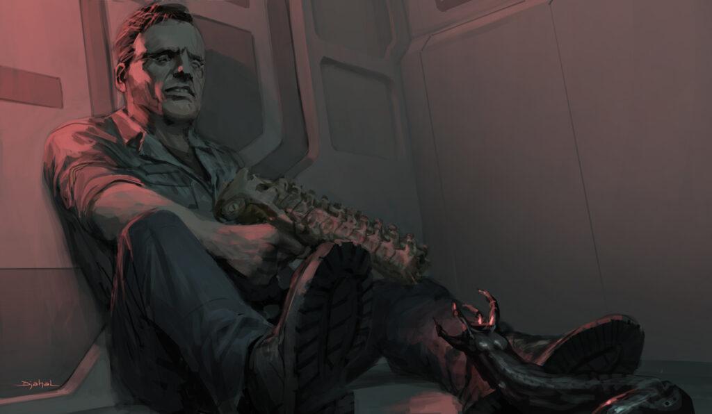 Alien 5 de Neil Blomkamp | Novas artes conceituais do filme cancelado são reveladas