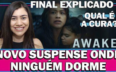 AWAKE   Análise e Final Explicado do filme de ficção científica com Gina Rodriguez na Netflix