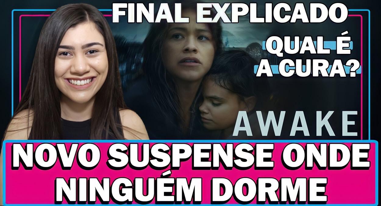 AWAKE | Análise e Final Explicado do filme de ficção científica com Gina Rodriguez na Netflix
