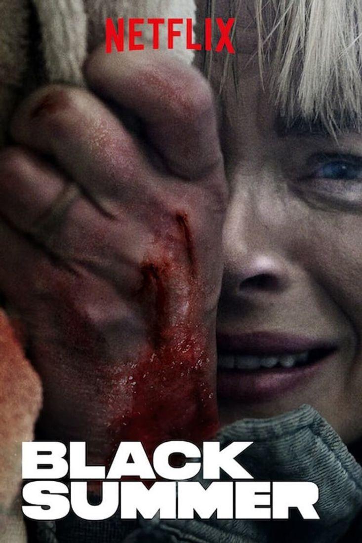black summer poster - Black Summer Segunda Temporada   Série de apocalipse zumbi já disponível no catálogo da Netflix