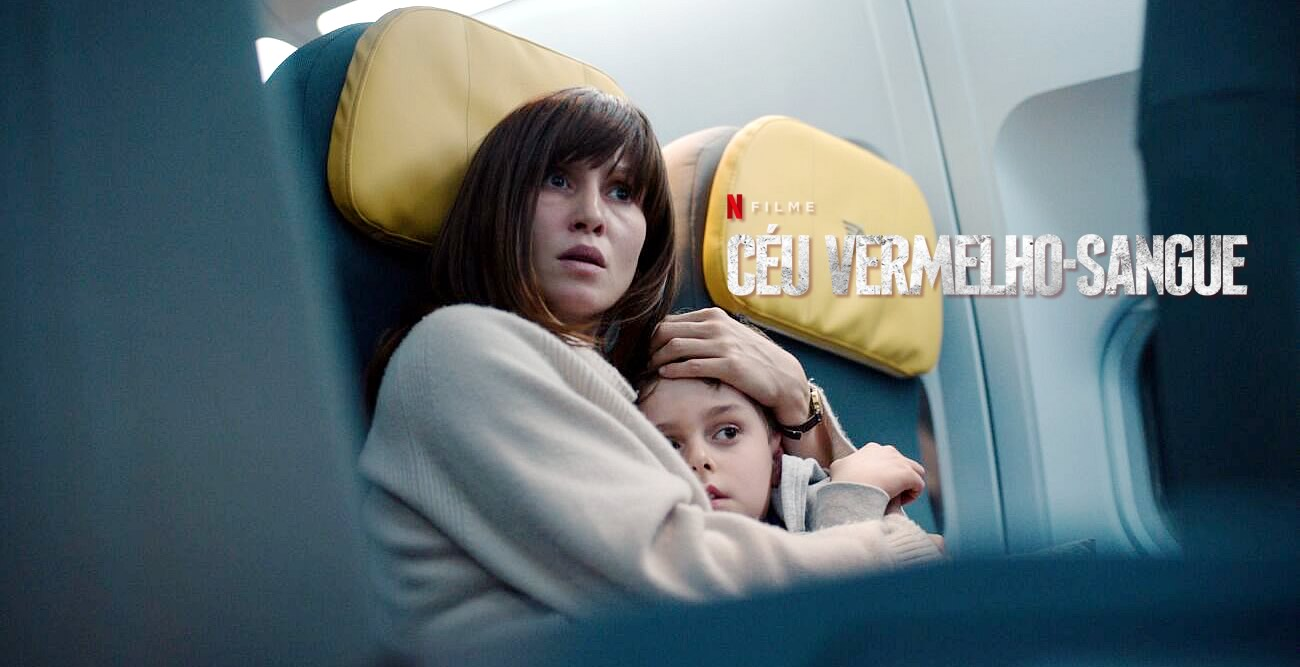 Céu Vermelho-Sangue | Netflix | Terror com vampiros em um avião sequestrado com Peri Baumeister
