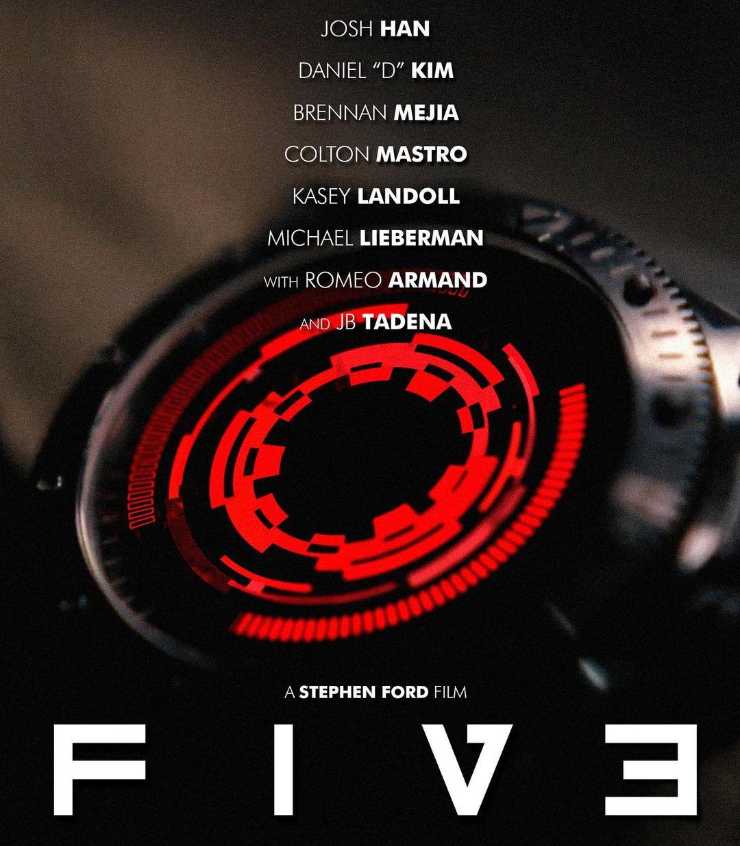FIVE | Curta-Metragem incrível inspirado em TENET de Christopher Nolan e com baixo orçamento