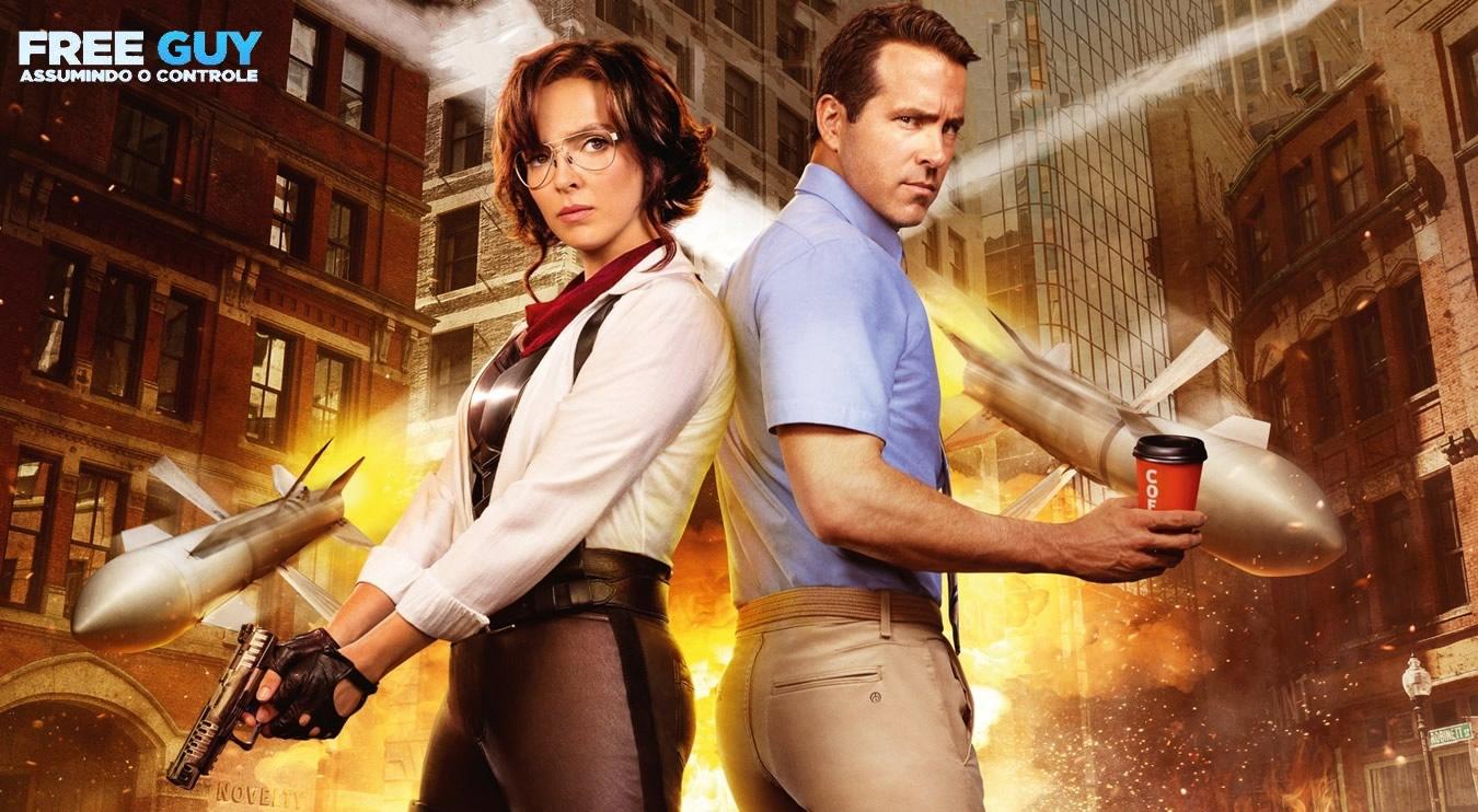 Free Guy: Assumindo o Controle   Novo trailer da comédia da 20th Century Studios com Ryan Reynolds