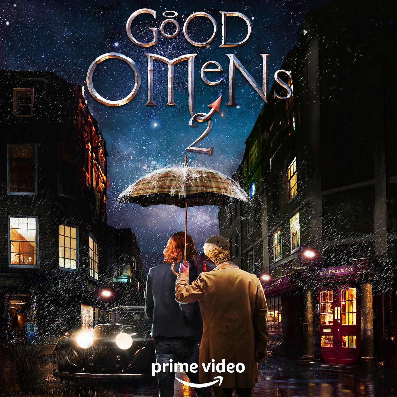 GOOD OMENS | Amazon Prime Vídeo renova para segunda temporada a série de Neil Gaiman e Terry Pratchett