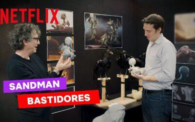 Sandman | Neil Gaiman visita os bastidores da série live-action da Netflix com cenários incríveis