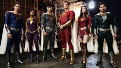Shazam! Fúria dos Deuses | O diretor David F. Sandberg divulgou os uniformes da família Shazam