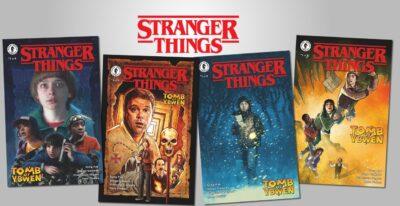 STRANGER THINGS | Dark Horse Comics anuncia nova minissérie em quadrinhos da série da Netflix