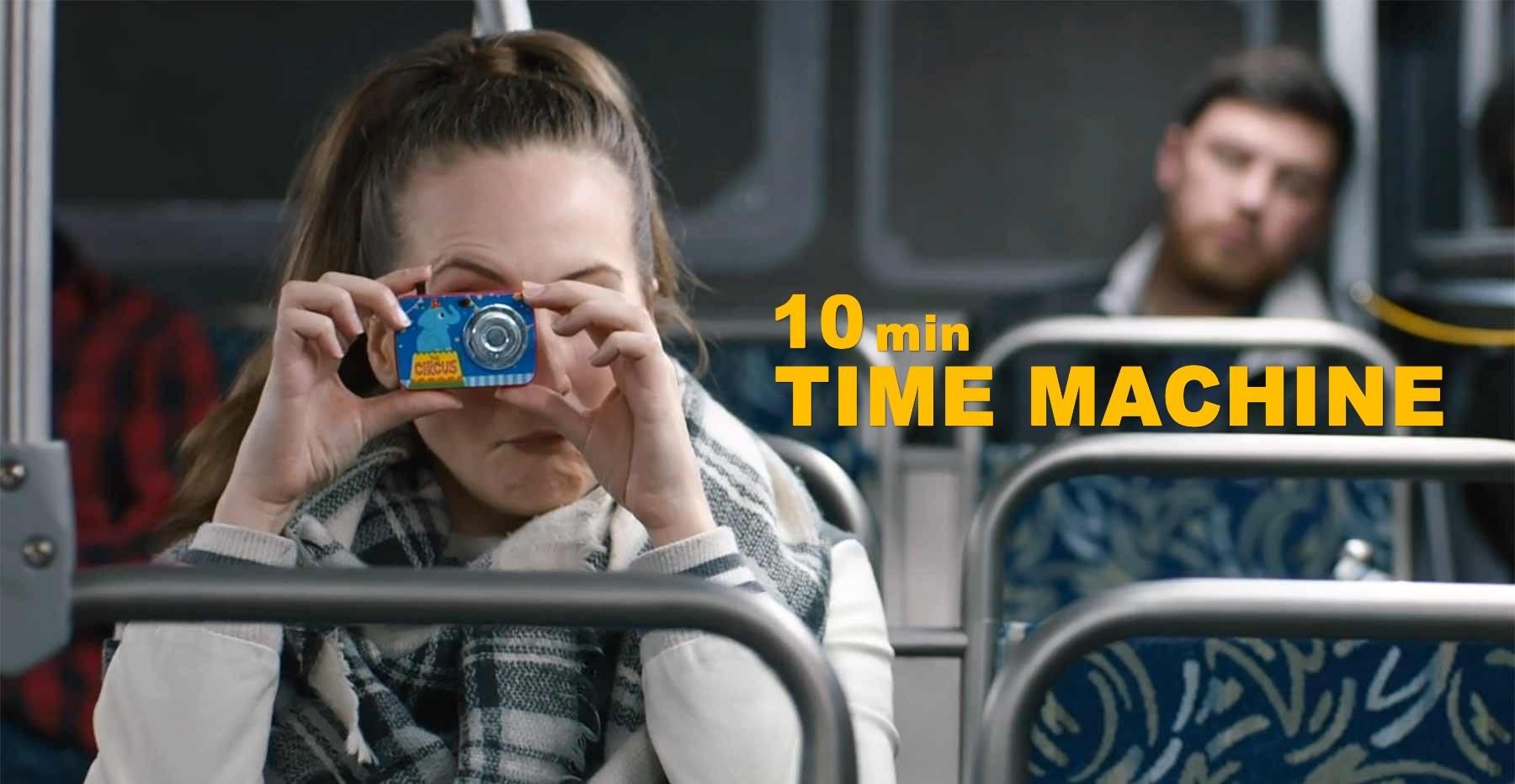 Ten Minute Time Machine   Curta-metragem de ficção científica onde casal viaja no tempo por 10 minutos