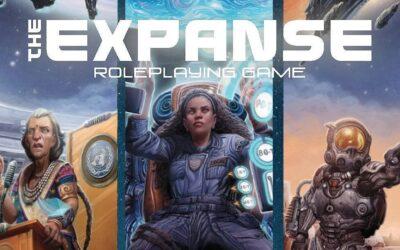 The Expanse Roleplaying Game traz a premiada série de ficção científica de James S.A. Corey para a mesa