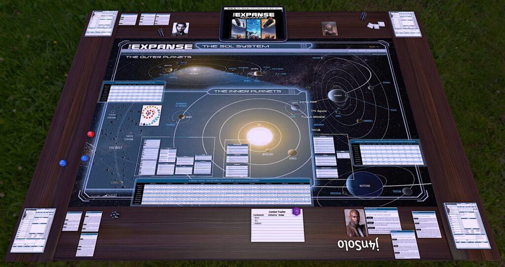 the expanse roleplaying game traz a premiada serie de ficcao cientifica para mesa 1024x541 - The Expanse Roleplaying Game traz a premiada série de ficção científica de James S.A. Corey para a mesa