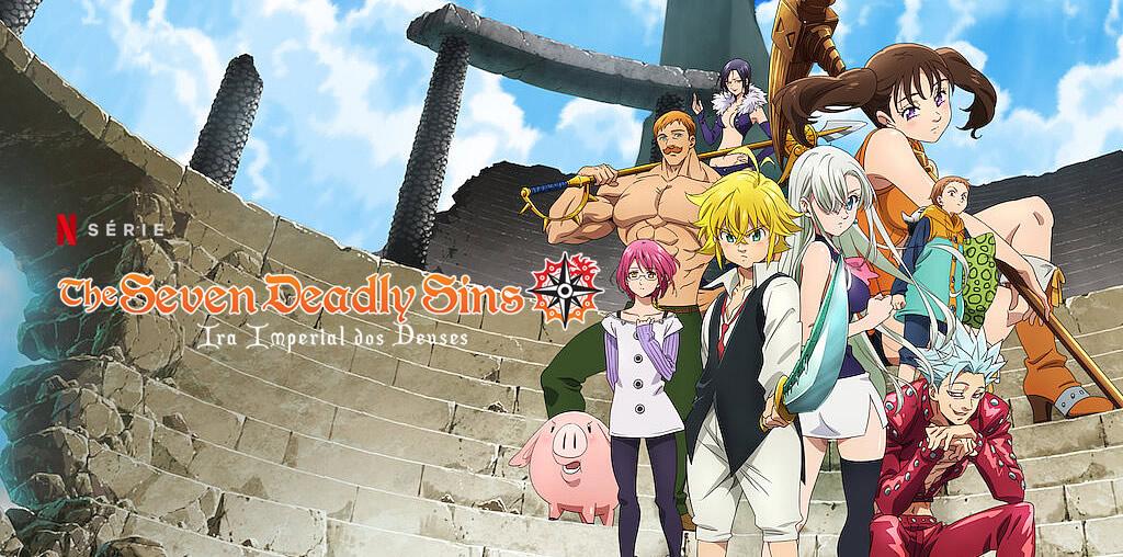 The Seven Deadly Sins: O Julgamento do Dragão | Netflix divulga trailer oficial da série anime