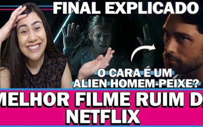 WHAT LIES BELOW   Análise divertida e Final explicado do melhor filme ruim da Netflix