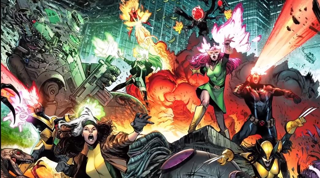 X-Men 1 Marvel Comics divulga Trailer de lançamento da revista dos mutantes com nova formação