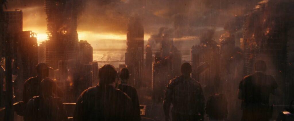 a guerra do amanha chegada tropa r chega aofuturo 1024x422 - A Guerra do Amanhã - Análise e Teoria sobre o final da Ficção Científica com Chris Pratt na Amazon Prime Video