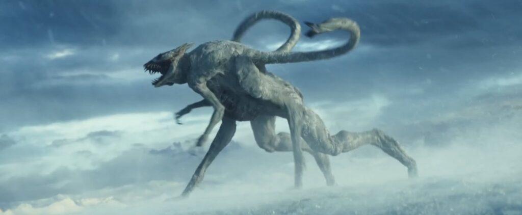 a guerra do amanha garra branca femea escapa 1024x422 - A Guerra do Amanhã - Análise e Teoria sobre o final da Ficção Científica com Chris Pratt na Amazon Prime Video