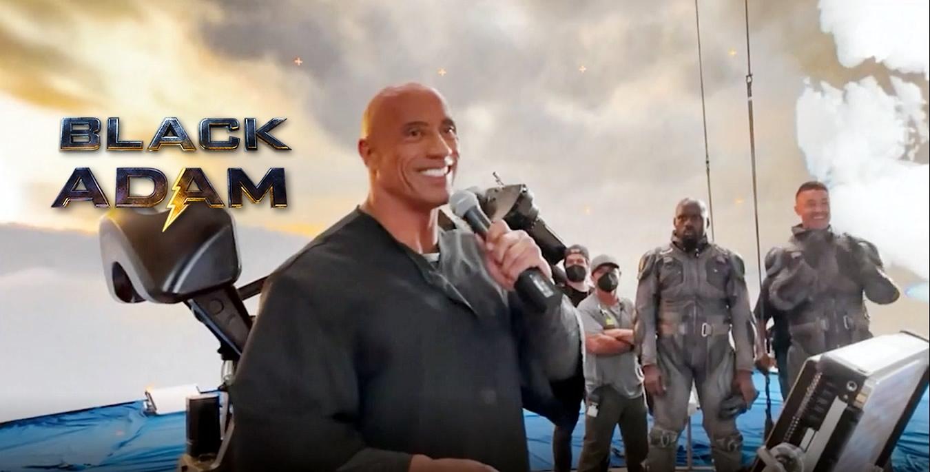 Adão Negro | Dwayne Johnson comemora fim das filmagens em vídeo de bastidores com equipe e elenco