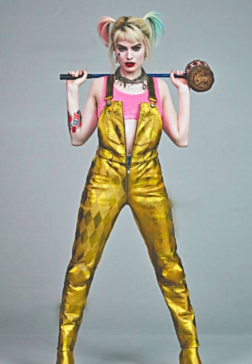 Aves de Rapina Harley Quinn Golden Romper