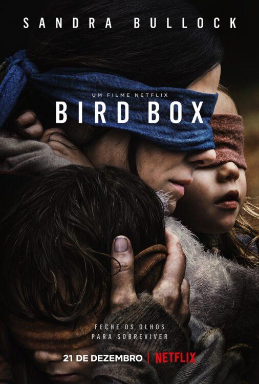 BIRD BOX com Vivien Lyra Blair e Sandra Bullock na Netflix