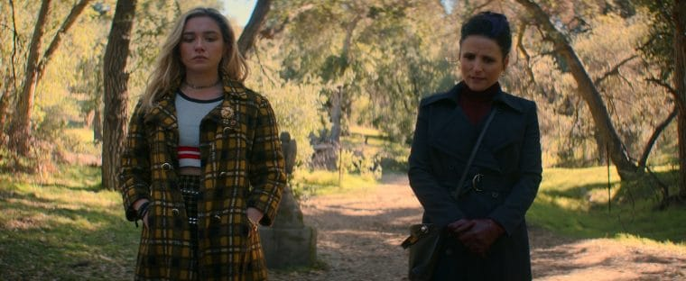 cena pos creditos de viuva negra - Viúva Negra   Scarlett Johansson revela uma versão alternativa do filme com Yelena Belova de Florence Pugh