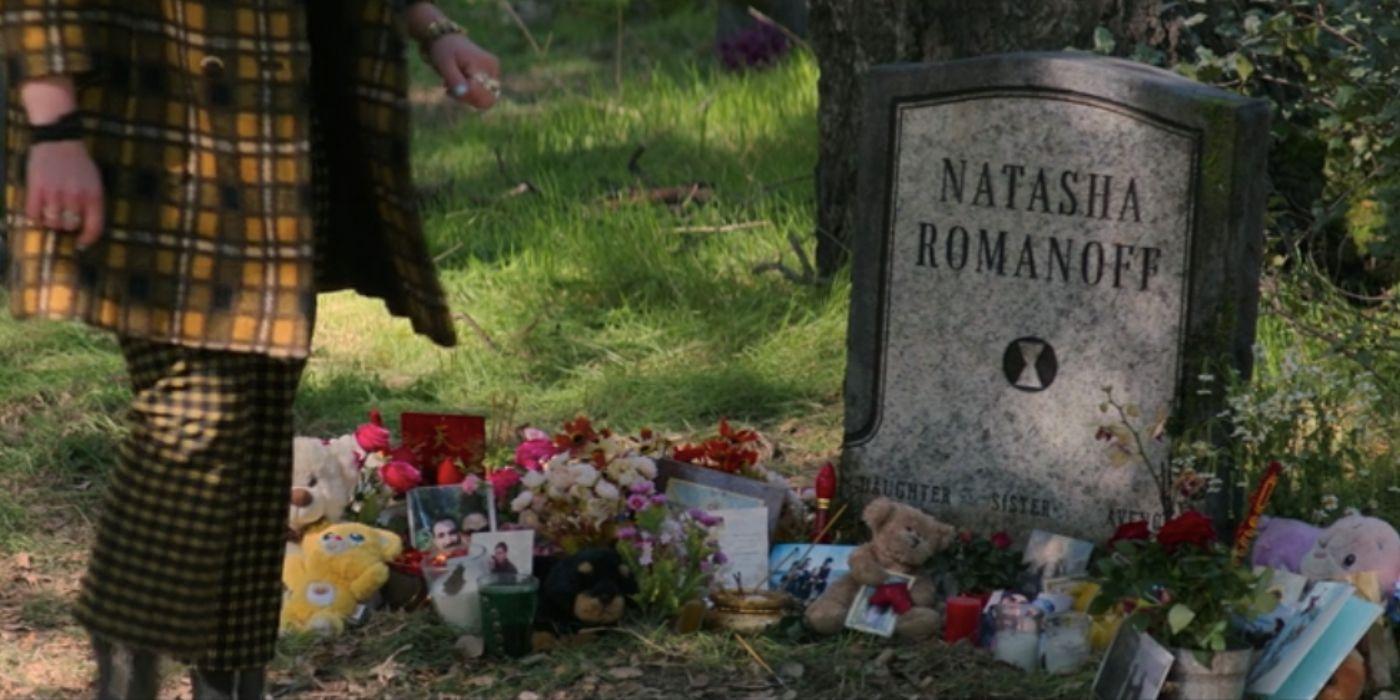 cena pos creditos tumulo de viuva negra - Viúva Negra   Scarlett Johansson revela uma versão alternativa do filme com Yelena Belova de Florence Pugh