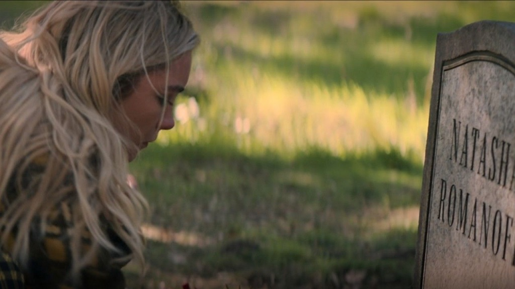 cena pos creditos viuva negra com florence pugh - Viúva Negra   Scarlett Johansson revela uma versão alternativa do filme com Yelena Belova de Florence Pugh