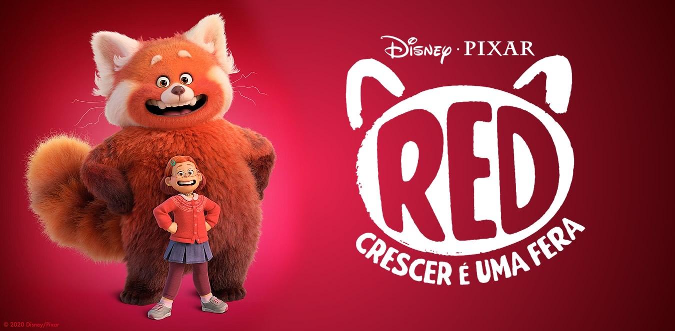 Red: Crescer é uma Fera   Uma jovem se transforma em um panda vermelho gigante na nova animação da Pixar