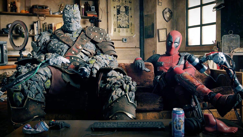 Deadpool e Korg se juntam para vídeo de reação sobre o filme Free Guy com Ryan Reynolds e Taika Waititi