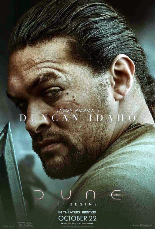 DUNA - Jason Momoa como Ducan Idaho
