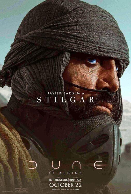 DUNA - Javier Bardem como Stilgar o líder da tribo Stilgar