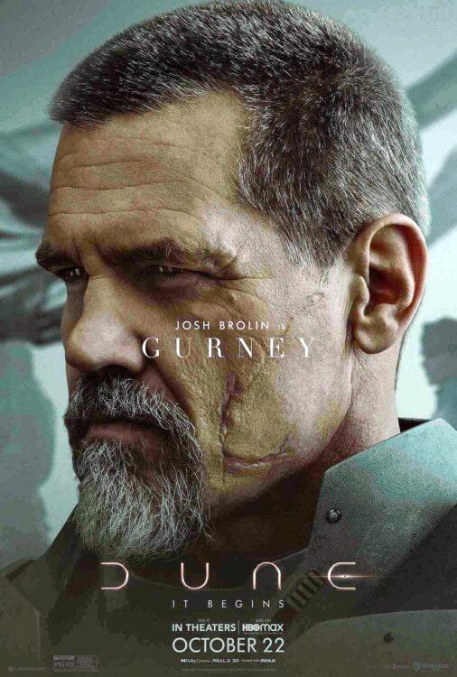 DUNA - Josh Brolin como Gurney Halleck