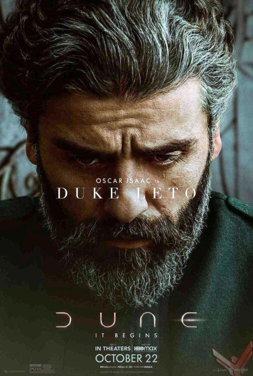DUNA - Oscar Isaac como Duque Leto Atreides