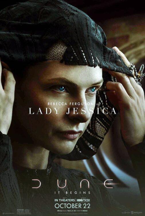 DUNA - Rebecca Ferguson como Lady Jessica