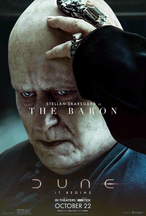 DUNA - Stellan Skarsgard como o Barão Harkonnen
