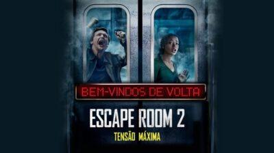 Escape Room 2 Tensão Máxima | Sony Pictures divulga cartaz nacional com novos desafios