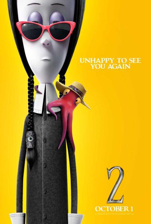 A Família Addams 2 cartaz individual