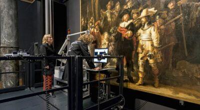 Pesquisadores ensinaram uma rede neural de Inteligência Artificial a pintar como Rembrandt