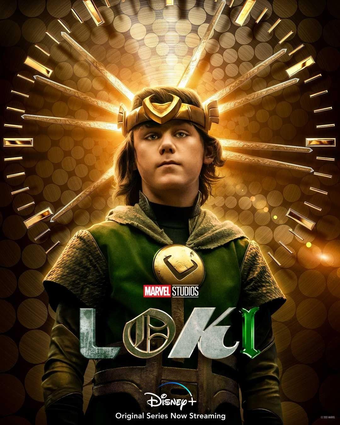 LOKI | Série da Marvel Studios tem pôsteres individuais divulgados das Variantes Loki - Kid Loki