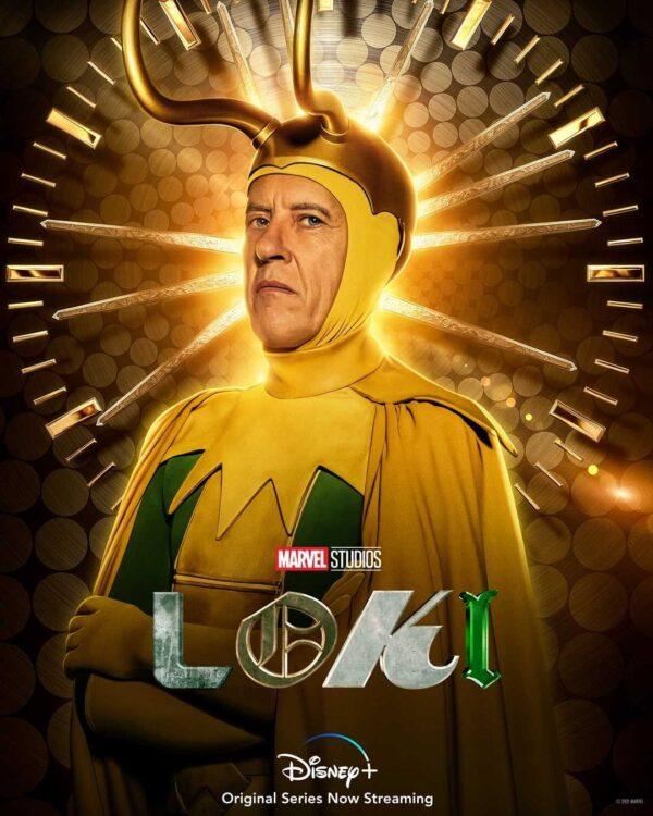LOKI | Série da Marvel Studios tem pôsteres individuais divulgados das Variantes Loki - Classic Loki