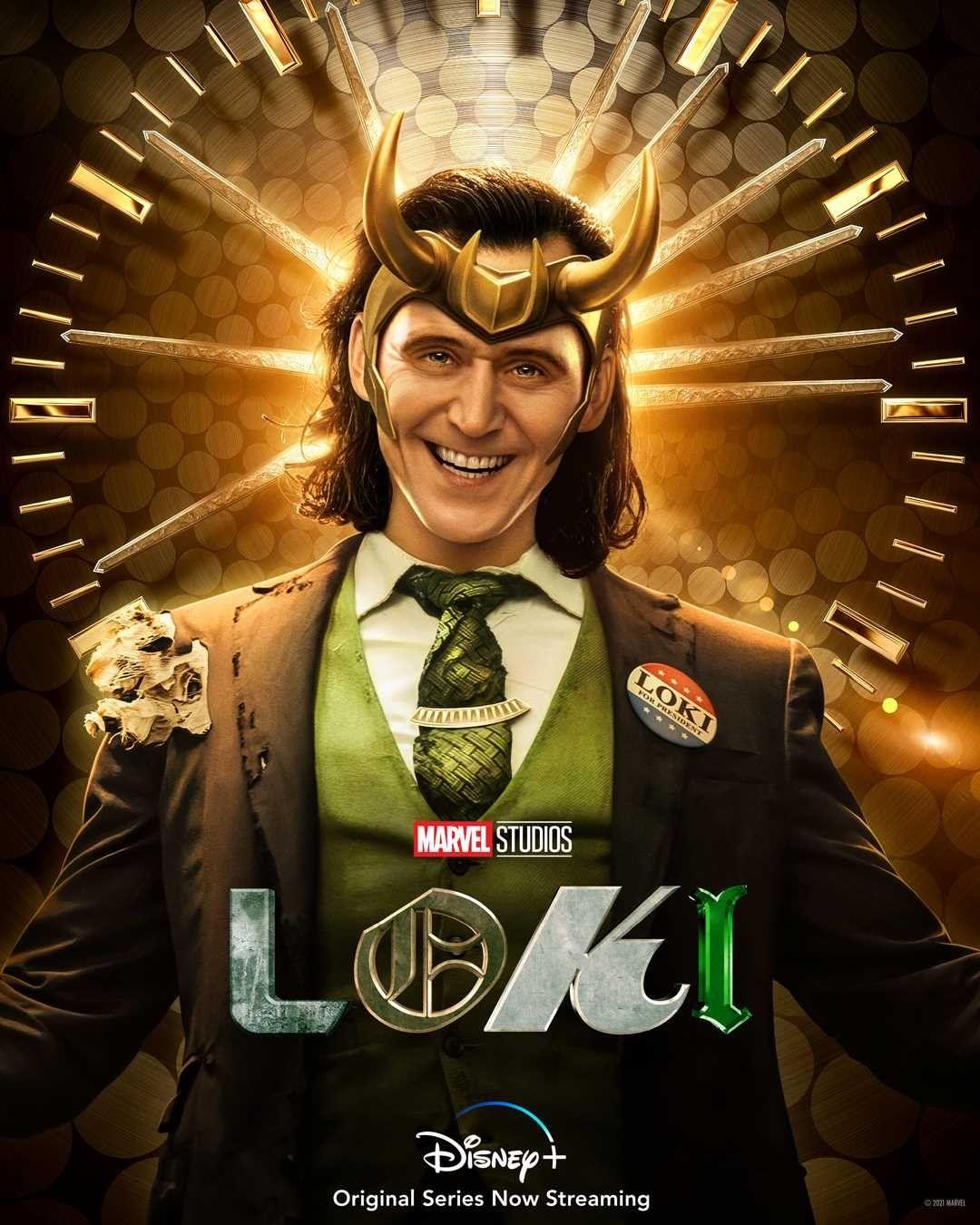 LOKI | Série da Marvel Studios tem pôsteres individuais divulgados das Variantes Loki - Loki Presidente