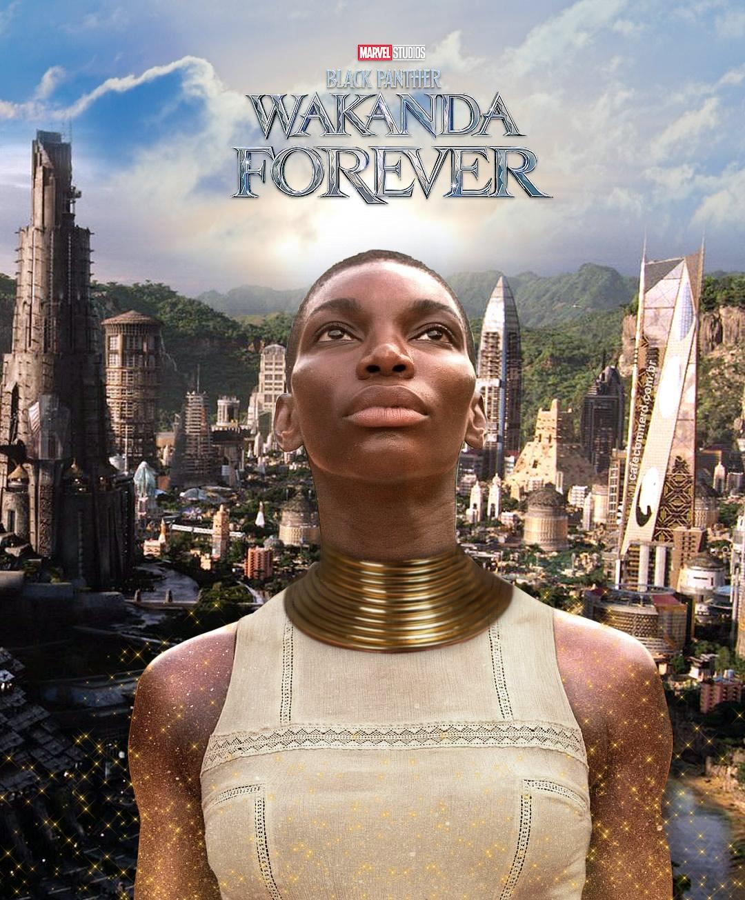 Atriz Michaela Coel é escalada para Pantera Negra Wakanda Forever
