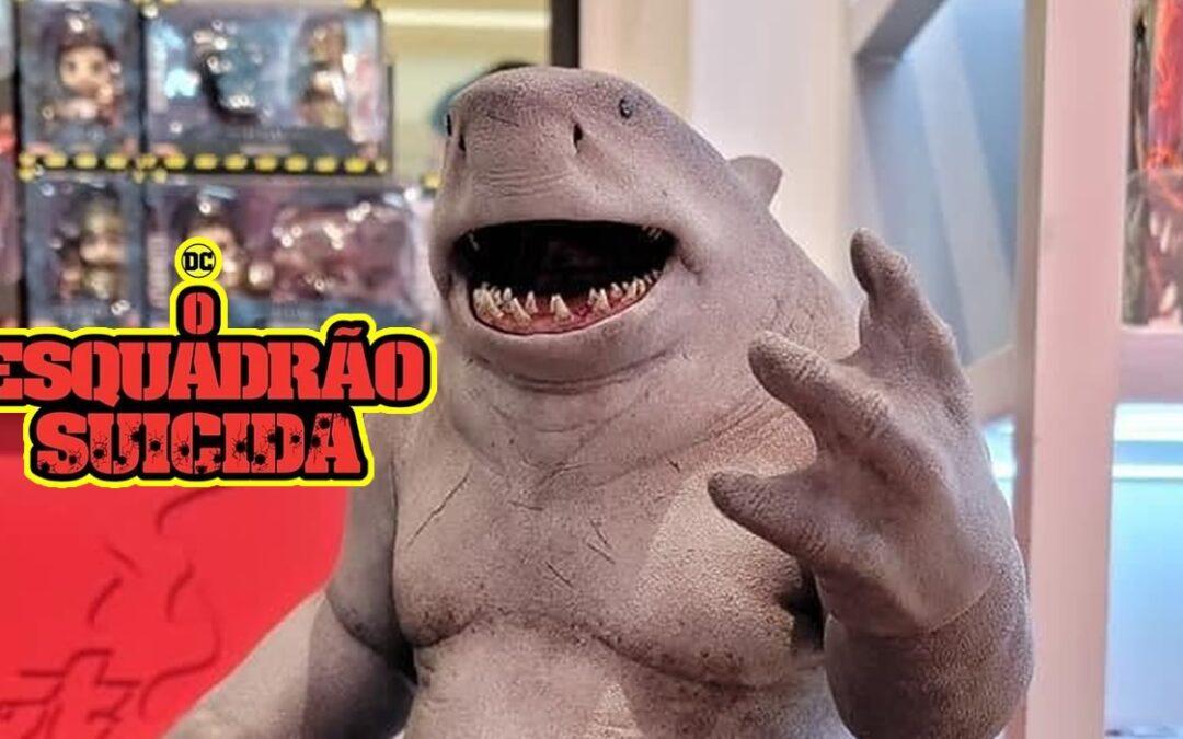 O ESQUADRÃO SUICIDA | James Gunn compartilha imagem do boneco do Tubarão-Rei da Hot Toys