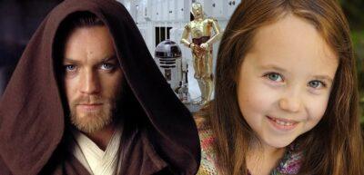OBI-WAN KENOBI   Vivien Lyra Blair pode ter sido escalada para interpretar a jovem Princesa Leia Organa