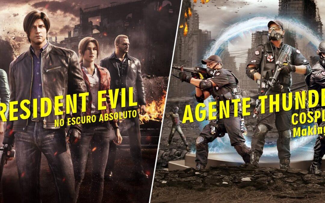 Café com Nerd lança seu canal no Youtube com vídeo de Resident Evil No Escuro Absoluto e fotomontagem de Cosplayer