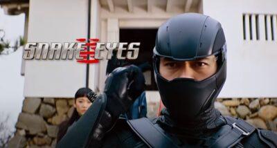 Snake Eyes: GI Joe Origins | Paramount Pictures divulga trailer final cheio de ação do Spin-off da franquia GI Joe