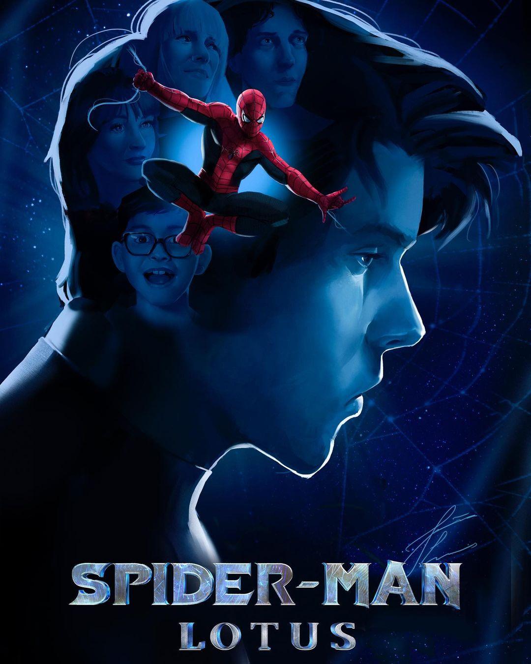 spider man lotus fan filme com baixo orcamento uma nova abordagem para o homem aranha poster - Spider-Man: Lotus   Fan filme com baixo orçamento traz uma nova abordagem para o Homem-Aranha